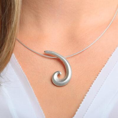 Anhänger Loop, 925 Silber