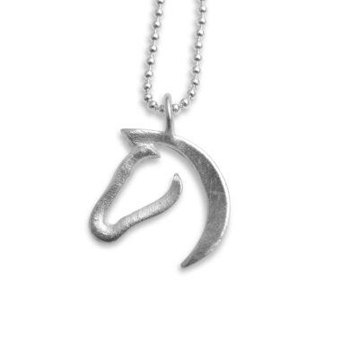 Pferd Anhänger Silber